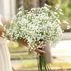 Artificial Gypsophila Flower Fake Silk Wedding Party Bouquet Home Décor - intl