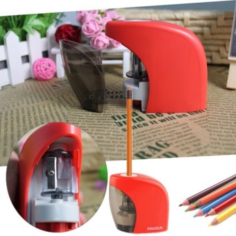 Audew Automatic Electric Touch Switch Pencil Sharpener For Home Office School Desktop NEW - Intl