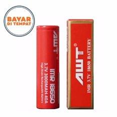 AWT Battery IMR 18650 3000 Mah 3.7V 40A - Baterai Rokok Elektrik