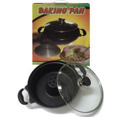 Baking Pan Cake Pemanggang Cetakan Kue Bolu 28 cm