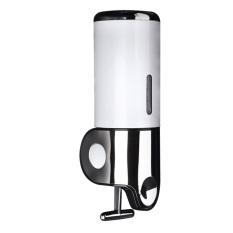Bathroom 500ml Wall Mount Soap Shower Dispenser Shampoo White (Intl)