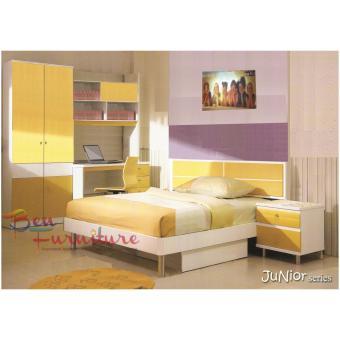 Ben Furniture Kamar Set Anak Junior Series [JABODETABEK