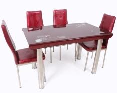 Best Dining Set Meja Makan MK - L 4012 ME - Merah
