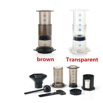 Best Espresso Portable Coffee Maker Haole Press Aeropress CoffeeMaker Coffee Press Maker With Metal Filter - intl