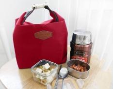 Best Lunch Bag Iconic Insulated Thermal Tas Bekal Makan Tahan Panas Dingin - MARUN