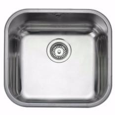 BLANCO SUPRA 450-U Kitchen Sink with Kran BLANCO MIDA HD - Silver Chrome