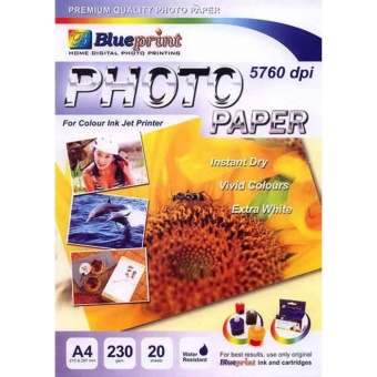 Blueprint Photo Paper (BP-GPA4230) Matahari Photo Paper A4 cetak foto