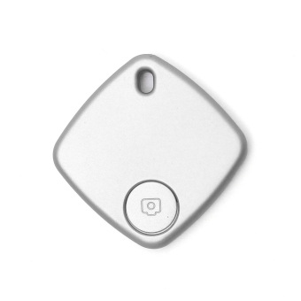 Bluetooth Anti-lost Key Finder Camera Remote Quadrate Tracker Silver