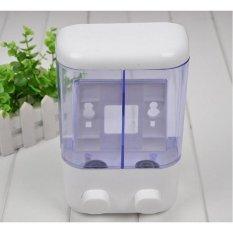 Bos Online Dispenser Sabun Cair 2 in 1 Putih - Packing Pake Dus Dengan Rapi