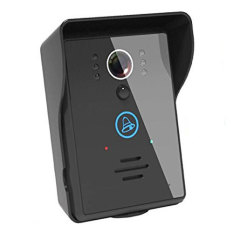 BURLING Wifi Video Doorbell Waterproof Touch Key Wireless Wifi Video Visual Door Phone Doorbell Intercom System Home Security For Iphone Samsung Mobile Phone Tablet Pc & Unlocking Function - Intl - Intl