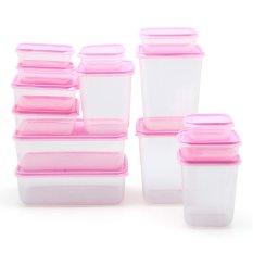 Calista Otaru Premium Sealware 14 Pcs (Pink)