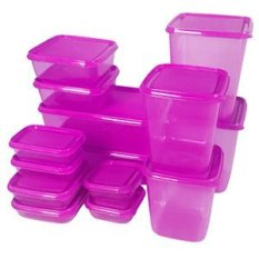 Calista Otaru Sealware Set 7G Premium - 14 Buah - Violet