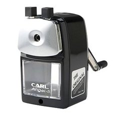 Carl Angel-5 Pencil Sharpener / Black / Quiet For Office / Home And School