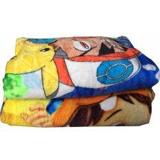 Cendra Selimut Bulu Lembut Karakter Anak Laki-Laki - Multicolor uk 150x200
