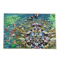 Cobblestone Sight 40 X 60cm Door Kitchen Carpets Memory Foam Bathroom Absorbent Non-slip Mat Happy Gifts Good Coral Fleece