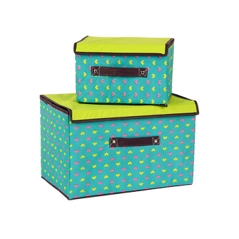 Colorful 2in1 DIY Storage Box Organizer