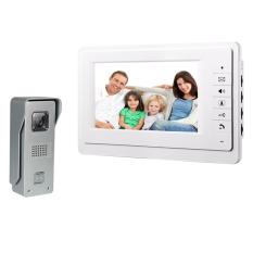 DB173 - 7 Inch TFT LCD Monitor Video Door Phone Intercom Home Security Night View Camera Doorbell System - Intl