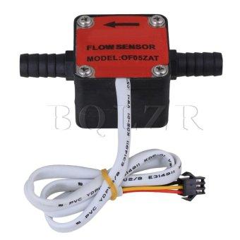 DC3.5-12V Liquid Gear Water Flow Sensor Switch Flowmeter Red