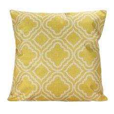 Decor Box Retro Cotton Linen Throw Compass Cushion Cover Pillowcase 01 (Intl)