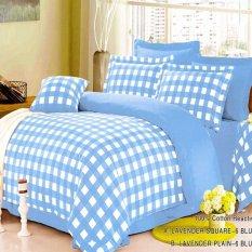 Depo Selimut Kotak Blue Ocean Cotton Sateen