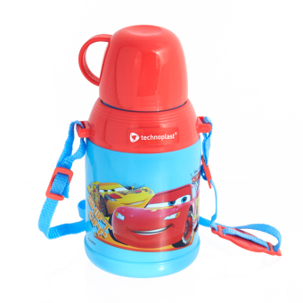 Disney Pixar Cars Power Bottle 650 Ml Merah-Biru
