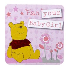 Disney Winnie The Pooh for your Baby Girl Mini Gift Card