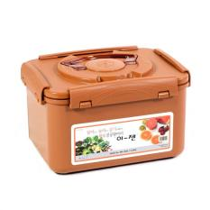 EJen Square Type 5.2L Vacuum And Airtight Storage Container