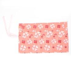 Fabric Holds-14 Crochet-Hooks Knitting-Needles Pencil Pen Brushes Wrap Case Organizer (Intl)