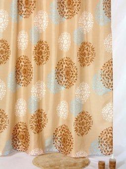 Fantasy Textile Polyester Shower Curtain Ring Ring Tera / Tirai Kamar Mandi