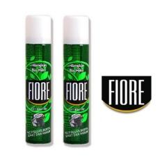 Fiore Anti bakteri Penghilang Bau (2 kaleng) - 100ml hijau