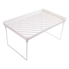 Foldable Storage Shelf Rack For Kitchen Bathroom
