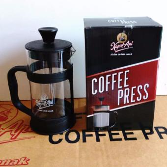 French Press, Plunger, Coffee Press - Hitam