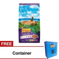 Friskies Surfin Turfin - 1.2 Kg + Free Container
