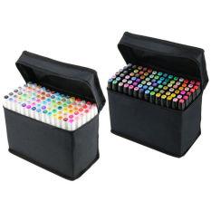 General Design Sketch Twin Marker Pen Set Of 80 Colors (White Pen Body) (Intl)