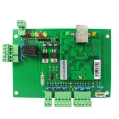 Generic Wiegand TCP / IP Network Entry Access Control Board Panel Controller For 1 Door 2 Reader