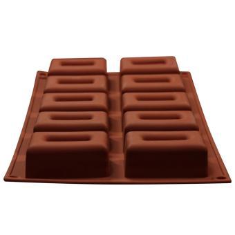 Griya Cetakan Sabun Med. Box 10 Cavity - Cokelat