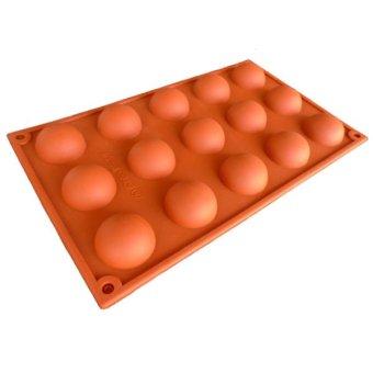 Cavity Merah Harga Spesifikasi Source · Griya Cetakan Silikon Half Ball 15 cav .