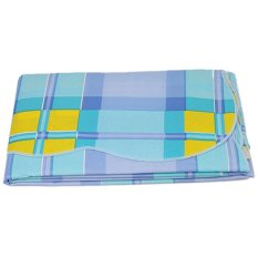 LALANG PVC Waterproof Tablecloth Blue / Yellow