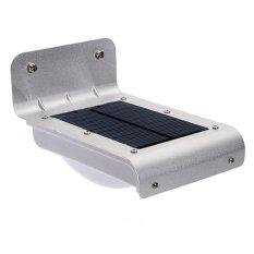 HAOFEI Waterproof Half Light Human Body Induction 16- Solar Motion SensorLight (Grey)