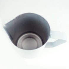 ... Milk Source · HDL Non stick Stainless Steel Espresso Coffee Latte Frothing Jug White 600ML