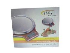 Heles Electronic Kitchen Scale HL-3211 - Timbangan Alat Dapur - Merah
