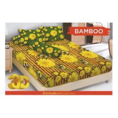 HG Sprei Kintakun Dluxe 180x200cm Motif Bamboo