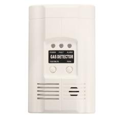 High Sensitivity LPG LNG Coal Natural Gas Leak Detector Alarm Sensor US Plug (Intl)