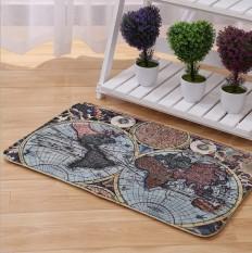 Hight Quality World Map New Hot Sale Living Room Carpet Bedroom Mats Door Floor Table Rug Anti-Slip Bathroom Kitchen Mats