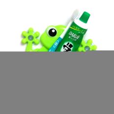 HKS Creative Cartoon Gecko Toothbrush Holder Green (Intl)