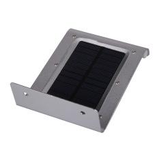 HKS Practical Solar Power Infrared Body Motion Light Sensor Lamp Energy Saving (White) (Intl)