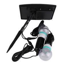 HKS Solar Ultra Bright 360LM 40LEDs Motion Sensor Garden Security Light Bulb (Intl)