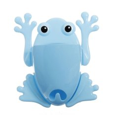 HKS Toothbrush Holder Cute Blue Frog Model Toothbrush Holders (Blue) (Intl)