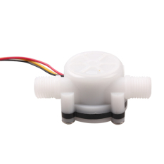 HKS Water Flow Sensor Fluid Flowmeter Switch Counter 0.3-6L / Min For Imprinter (Intl)