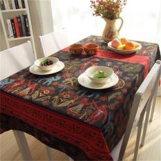 HL Southeast Asian Folk Style Retro Exotic Linen Cloth Linentablecloths Table Cloth Desk Table Cloth Tablecloth 120*120 CM